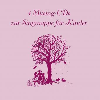CD: Mitsing-CDs zur Singmappe für Kinder
