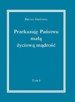 Ich gebe Ihnen eine kleine Lebensweisheit, Band 3 (Polnisch) - E-Book