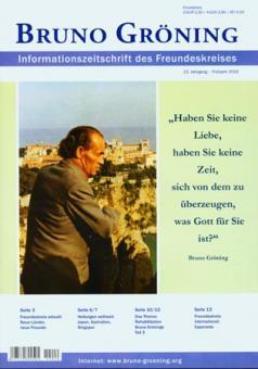 Zeitschrift Bruno Gröning Ausg.2010 Frühjahr