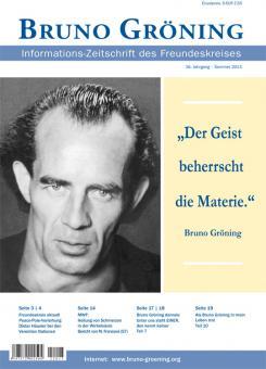 Zeitschrift Bruno Gröning - Sommer 2013 - deutsch