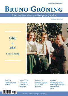 Zeitschrift Bruno Gröning -Sommer 2016 - kroatisch