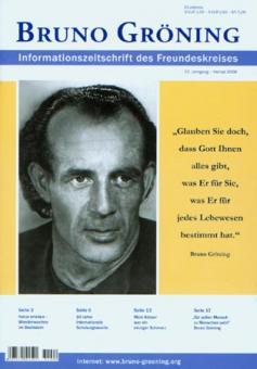 Zeitschrift Bruno Gröning Ausg.2009 Herbst