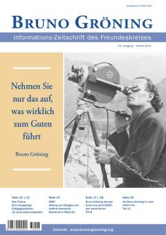 Zeitschrift Bruno Gröning - Herbst 2013 - deutsch