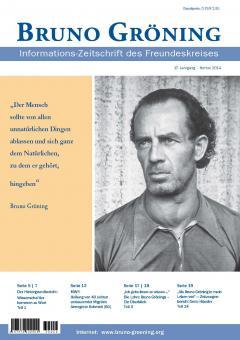 Zeitschrift Bruno Gröning - Herbst 2014 - deutsch