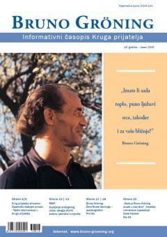 Zeitschrift Bruno Gröning - Herbst 2016 - kroatisch