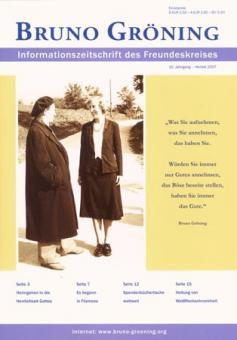 Zeitschrift Bruno Gröning Ausg.2007 Herbst