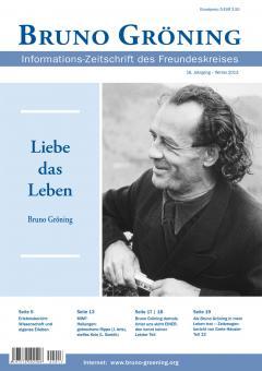 Zeitschrift Bruno Gröning - Winter 2013 - deutsch
