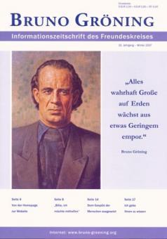 Zeitschrift Bruno Gröning Ausg.2007 Winter