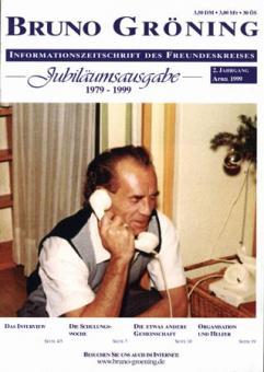 Zeitschrift Bruno Gröning Ausg.1999 April