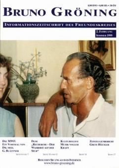 Zeitschrift Bruno Gröning Ausg.1999 Sommer
