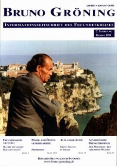 Zeitschrift Bruno Gröning Ausg.1999 Herbst