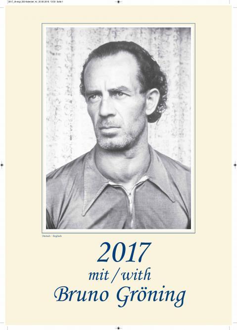 Kalender Bruno Gröning 2017, deutsch - englisch