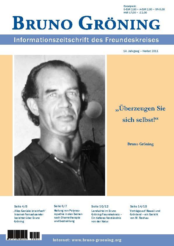 Kg 99 Magazines: Zeitschrift Bruno Gröning - Herbst